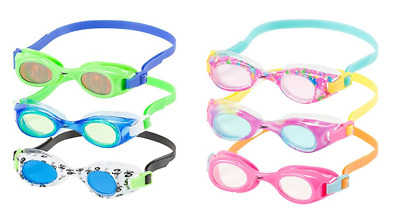 Speedo Kids Tye-Dye Splasher Goggle Kids Swim Goggle 12-Pack Rainbow Cool