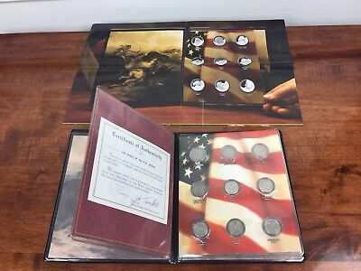 US 100 Years of the Nickel Supreme Collection In United States Of America Book