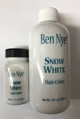 Ben Nye Snow White Hair Color Santa Claus Hair Color 1oz/2oz/8oz/16oz