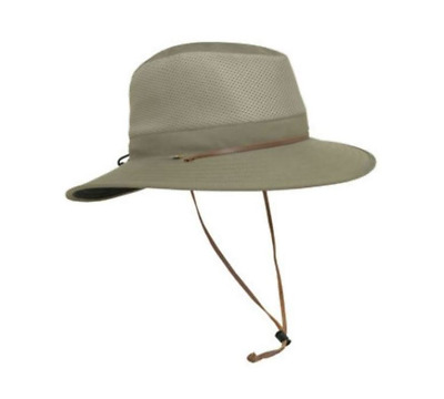 Men's Solar Escape UV Outback Hat, One size fits all, Beige