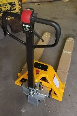 Electric Assist Manual Heavy Duty Pallet Jack 3000# capacity 4-6 hours run time