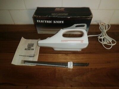 KITCHEN MASTER ELECTRIC KNIFE ~ VINTAGE RETRO 1980's