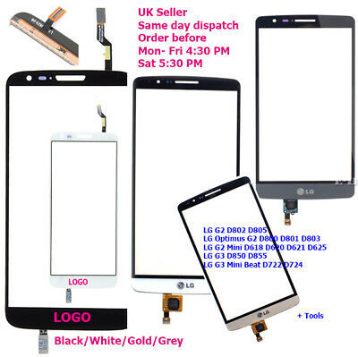 Touch Screen Digitizer Glass LG G3 / G3 Mini Beat/ LG G2, G2 mini, LG Optimus G2