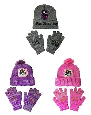 Descendants Beanie and Gloves Hat Combo Born To be Royal (3 Colors Available)