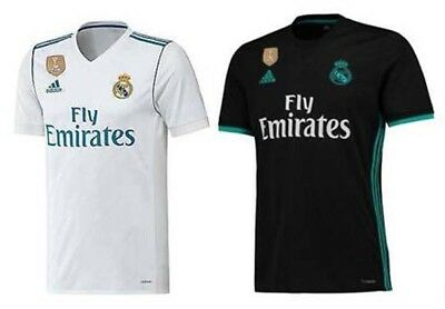 17/18 Real Madrid Home/Away Jersey S-XXL