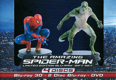 THE AMAZING SPIDER-MAN Limited Edition 3D 2Disc Blu-ray DVD Gift Set Ultraviolet