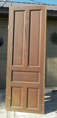 "Antique Victorian House WOOD Door 83""H WOOD TABLE TOP Farmhouse Wood Panel Door"