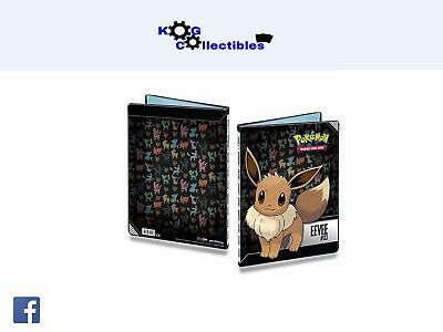 Eevee Pokemon 9-Pocket Portfolio/Folder A4 Holds 180 Cards Doubled BRAND NEW