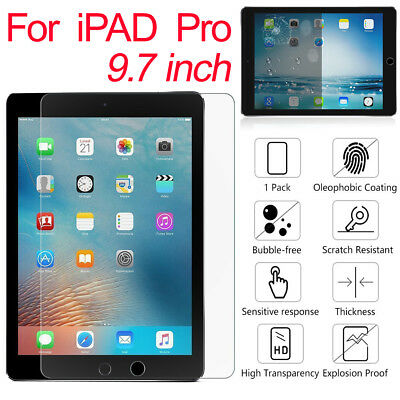 ULTRA THIN 9H TEMPERED GLASS FILM SCREEN PROTECTOR FOR APPLE IPad Pro & iPhone X