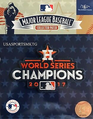 Official Licensed 2017 MLB World Series Champions Houston Astros Logo Patch