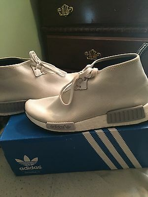 ff11551f51311 ADIDAS NMD C1 chukka White sz 10 city sock boost -  110.00