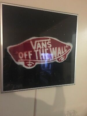 Vans Off the Wall Store light Display Sign local pick up