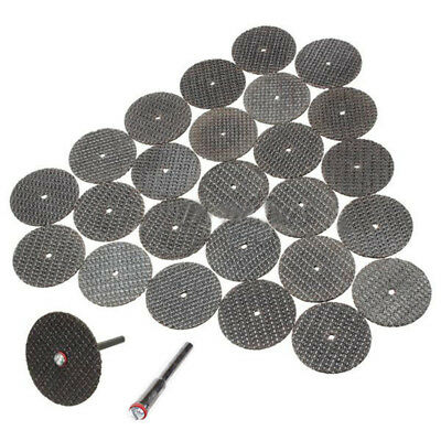 25pcs 32mm Metal Cutting Discs Blades Grinding Wheel Rotary Tools for Grinder