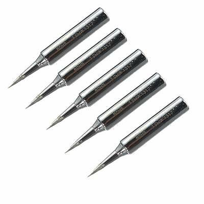 5x Lead Free Replacement Soldering Tools Solder Iron Tips Head 900m-T-I 936、Nice