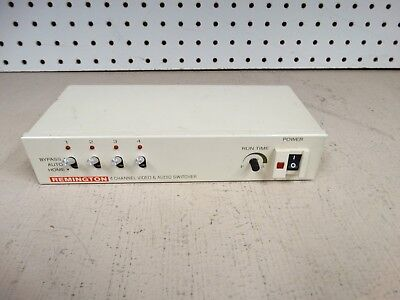 Remington 4-Channel Automatic Camera Switcher - base unit only - no adapter