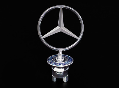 Mercedes-Benz Sport Hood Emblem Badge Logo for w210 w202 w203 C200 w211 C E S