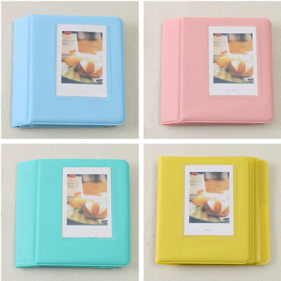 64 Pockets For Polaroid FujiFilm Instax Mini Album 7 7S 8 9 Camera Photo Film TU