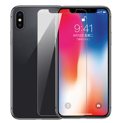 0.1Mm/0.2Mm Ultra Thin Tempered Glass Film Screen Protector For Apple Iphone X 8