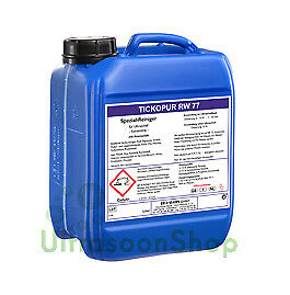 Tickopur RW77 – 5 liter, Special cleaner for ultrasonic bath - concentrate