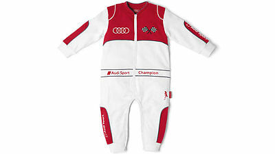 Original Audi Baby Race, Audi Sport, White/Red, NEW