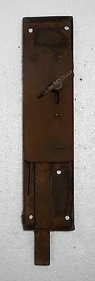 Vintage Big Iron Door Lock & Key Collectible from India Bt157