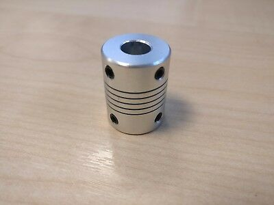 3D Printer Motor shaft coupler NEMA CNC Leadscrew 5mm 8mm prussia reprap UK!!
