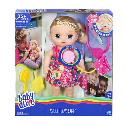 Baby Alive Sweet Tears Baby Blonde Cad 86 09
