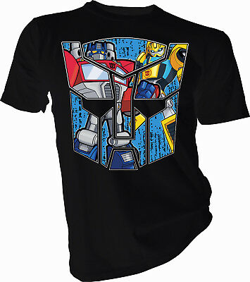 Transformers Optimus Prime and Bumblebee Adult & Kids T-Shirt
