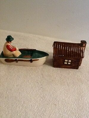 Storyteller Arts Designed By Rachel Elizondo Boat & Cabin Salt & Pepper Shakers