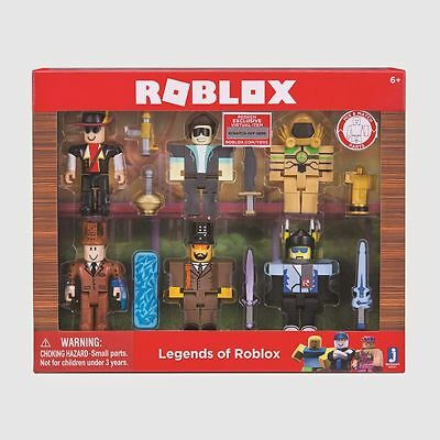 NEW Roblox - Legends of Roblox - 6 Action Figure Multipack
