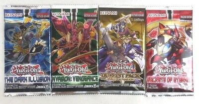 Konami Yu Gi Oh Dark illusion, Rivals of the Pharaoh, Invasion, Booster Pack