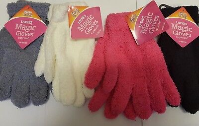 LADIES MAGIC SUPER SOFT Gloves Girls Winter Clothing Thermal Stretchable Warm