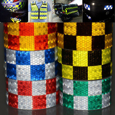 Car Truck Body Reflective Tape Caution Warning Conspicuity Safety Sticker 5cm