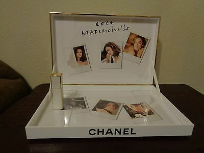 Chanel Coco Mademoiselle Perfume Make Up Store Display Tray 15 x 10 x 11.5