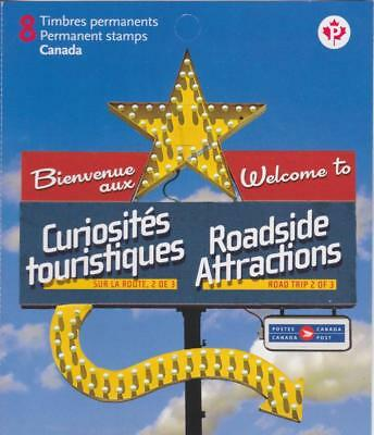 Canada 2010 BK432 Roadside Attractions – 2 Unused