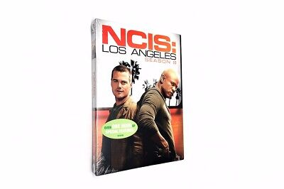 NCIS Los Angeles The Complete Eighth Season 8 (DVD, 2017, 6-Discs) US Seller New