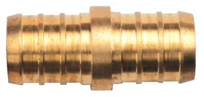 "Brass Crimp Fitting 1/2"" x 1/2"" PEX Coupling (pack of 8)"