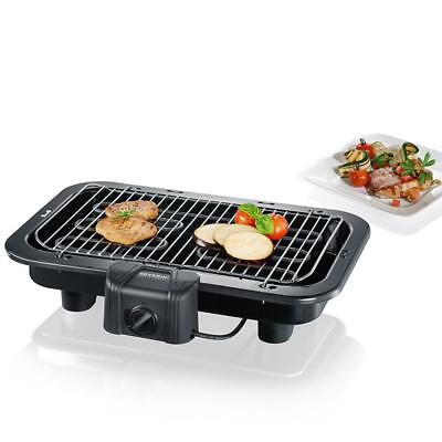 Severin - 2790 Barbecue de table 2500 W XXL noir