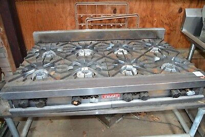 Vulcan Commercial Counter Top Gas Range