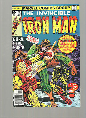 Iron Man #92 High Grade  9.8   The Melter