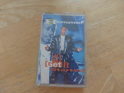 MC Hammer ‎– Let's Get It Started - Cassette Tape