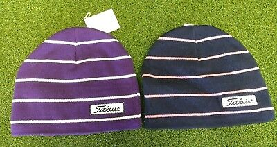 a59b4896f19 1 NEW Titleist Striped Womens Ladies Girls Winter Stocking Golf ...
