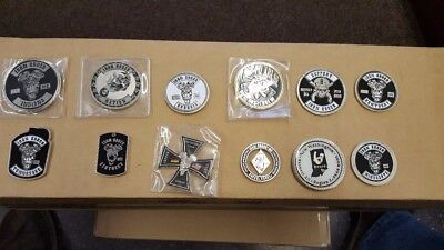Iron Order MC Challenge Coins / IOMC / Iron Order Motorcycle Club Over 250 avail