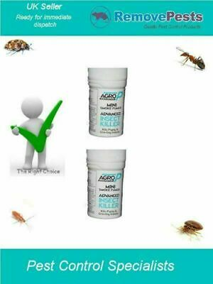 2 x clothes moth carpet moth flying Insects bombs AP Midi 15g, bigger and better