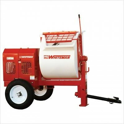 Multiquip's WM90PH8 9 Cu.Ft. 8HP Poly Drum Mortar Mixers + FREE SHIPPING