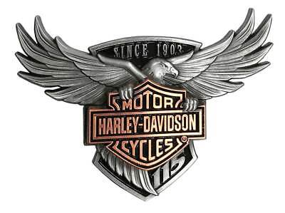 Harley-Davidson 115th Anniversary Limited Collector Pin w/ Display Stand 290163
