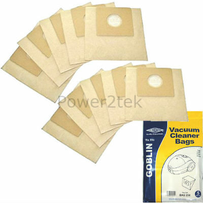 10 x Type 00 Vacuum Cleaner Bags for Goblin Topo 73154 Hoover UK