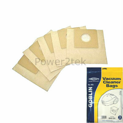 5 x Type 00 Vacuum Cleaner Bags for Goblin Topo 73156 Hoover UK