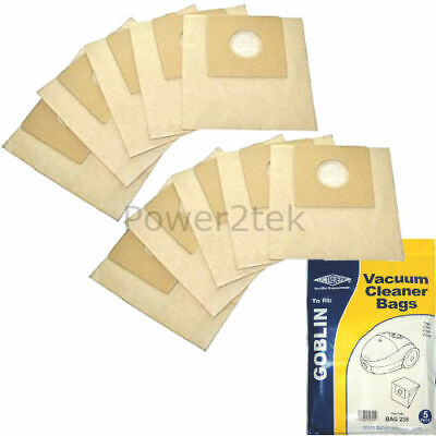 10 x Type 00 Vacuum Cleaner Bags for Goblin Topo 73155 Hoover UK
