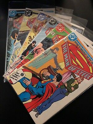 THE MAN OF STEEL - 6 Part Mini-Series by Byrne & Giodano [6 issues]